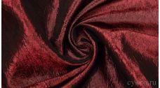 Ткань Тафта Бордовая