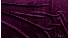 Бархат темно-фиолетовый