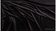 Бархат серебристо-черный