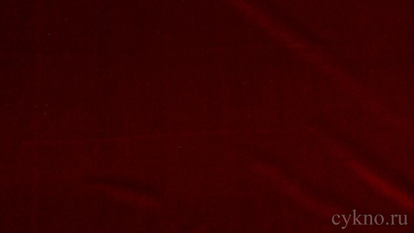 Бархат малиново-красный