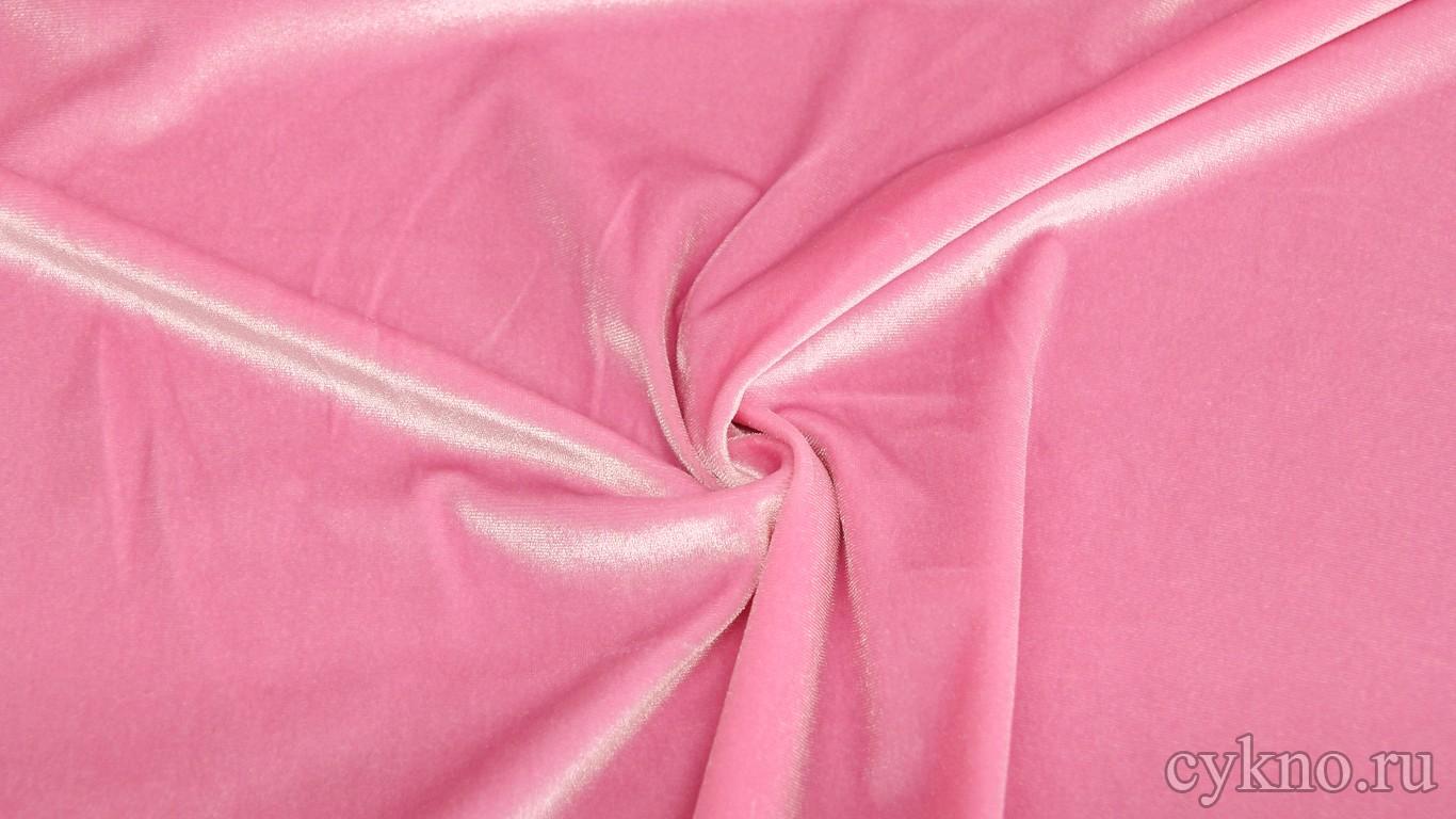 Бархат розовый