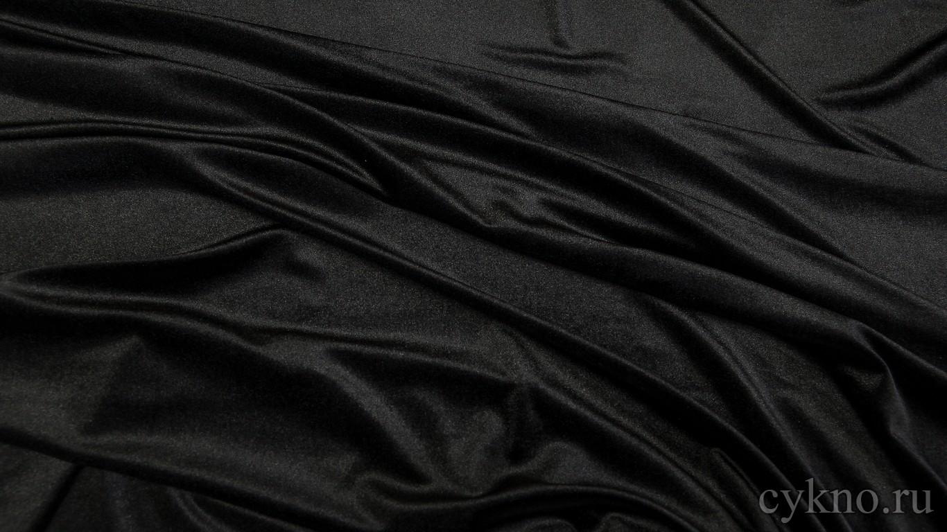 Бархат чернильно-черный