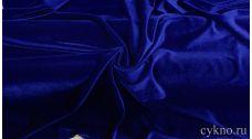Бархат однотонный фиолетово-синий