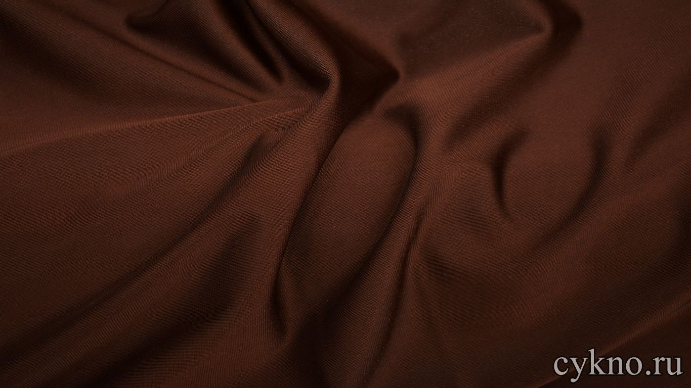 Бархат однотонный шоколад