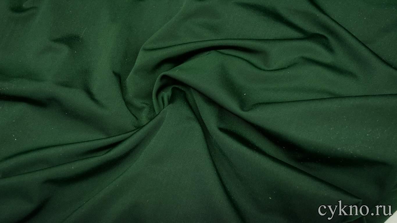 Бархат мраморный зеленый бутылочный