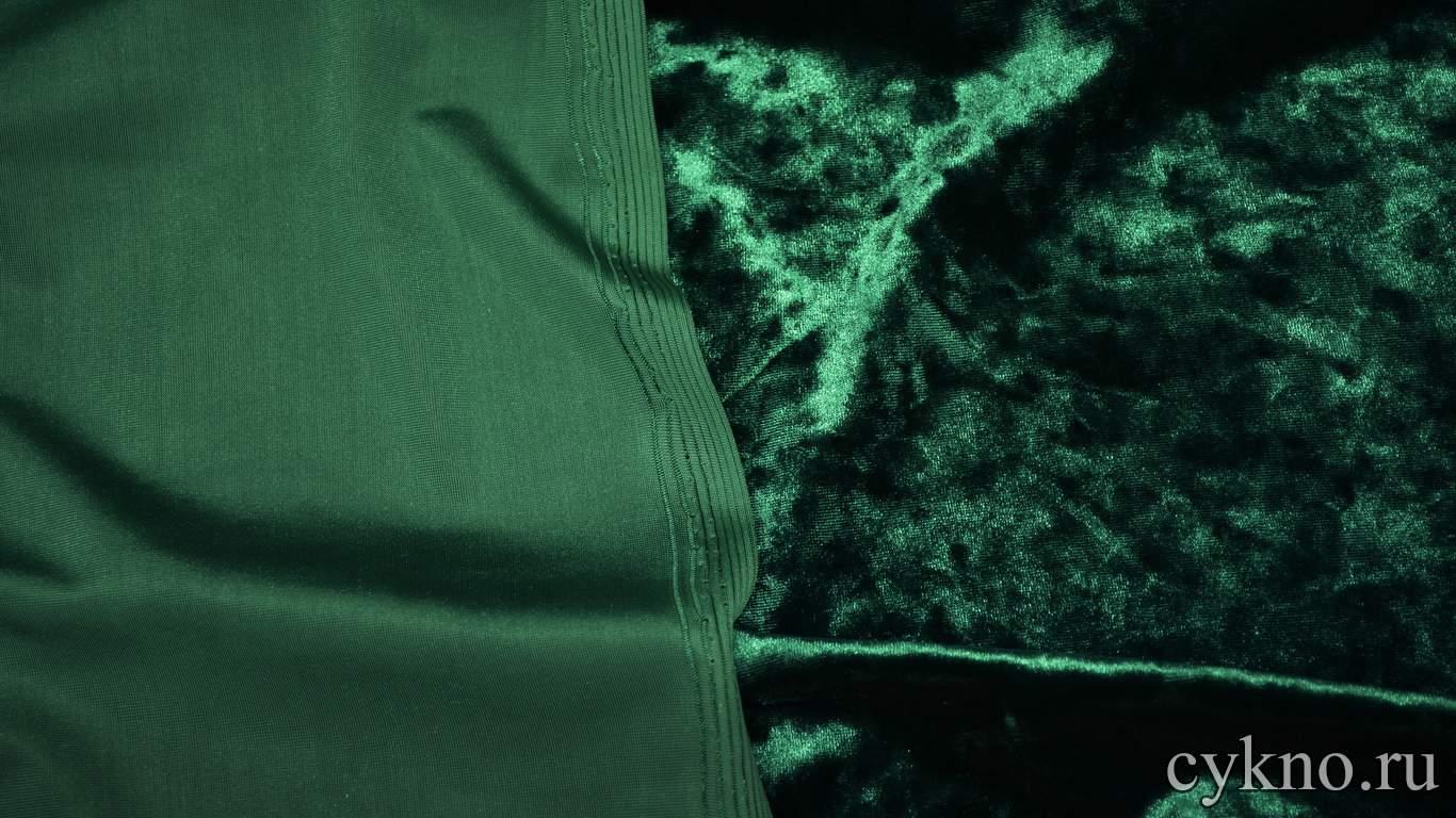 Бархат мраморный зеленая ель