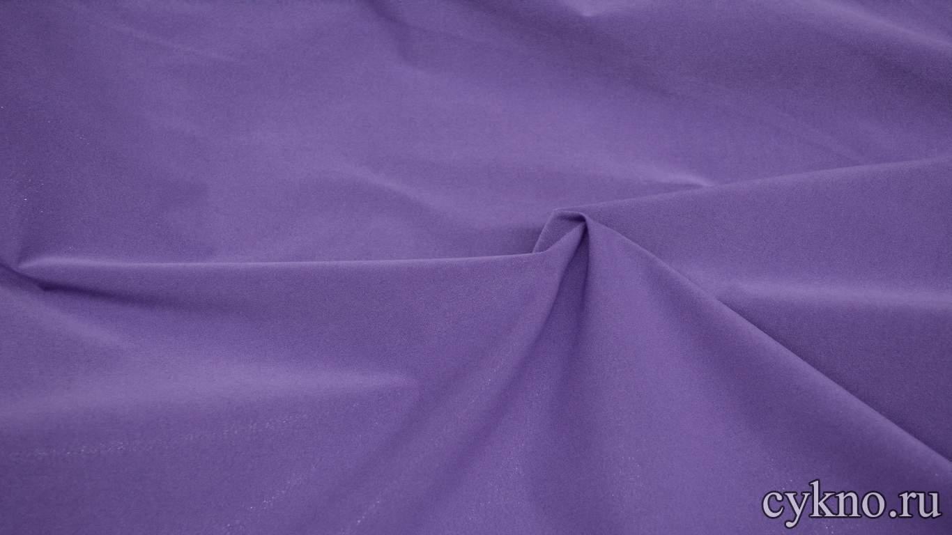 Парча-стрейч фиолетовая