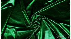 Парча-стрейч зеленый бутылочный цвет