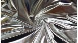 Парча-стрейч серебро