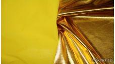 Парча-стрейч золото