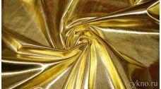 Парча-стрейч светлое золото