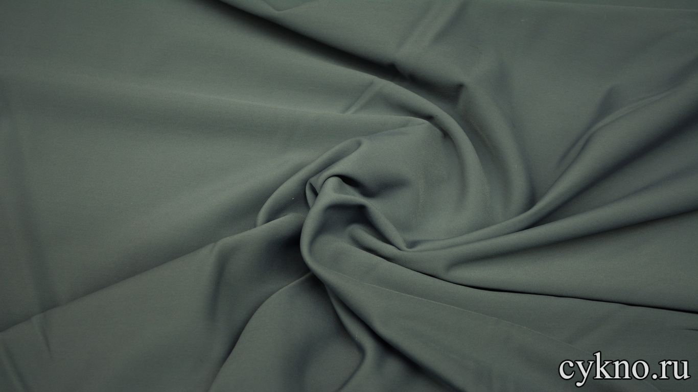 Бифлекс матовый на флисе светло-серый
