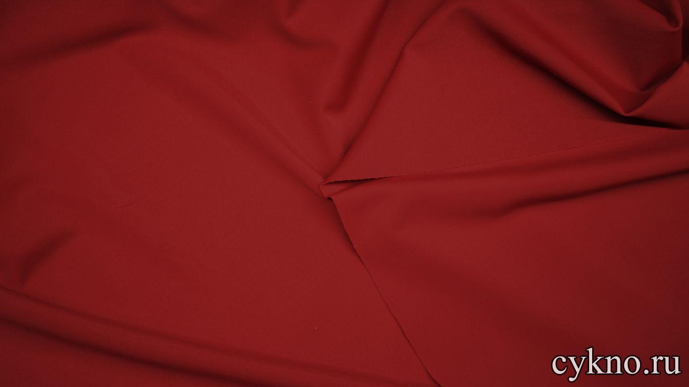 Бифлекс матовый глубокий красный