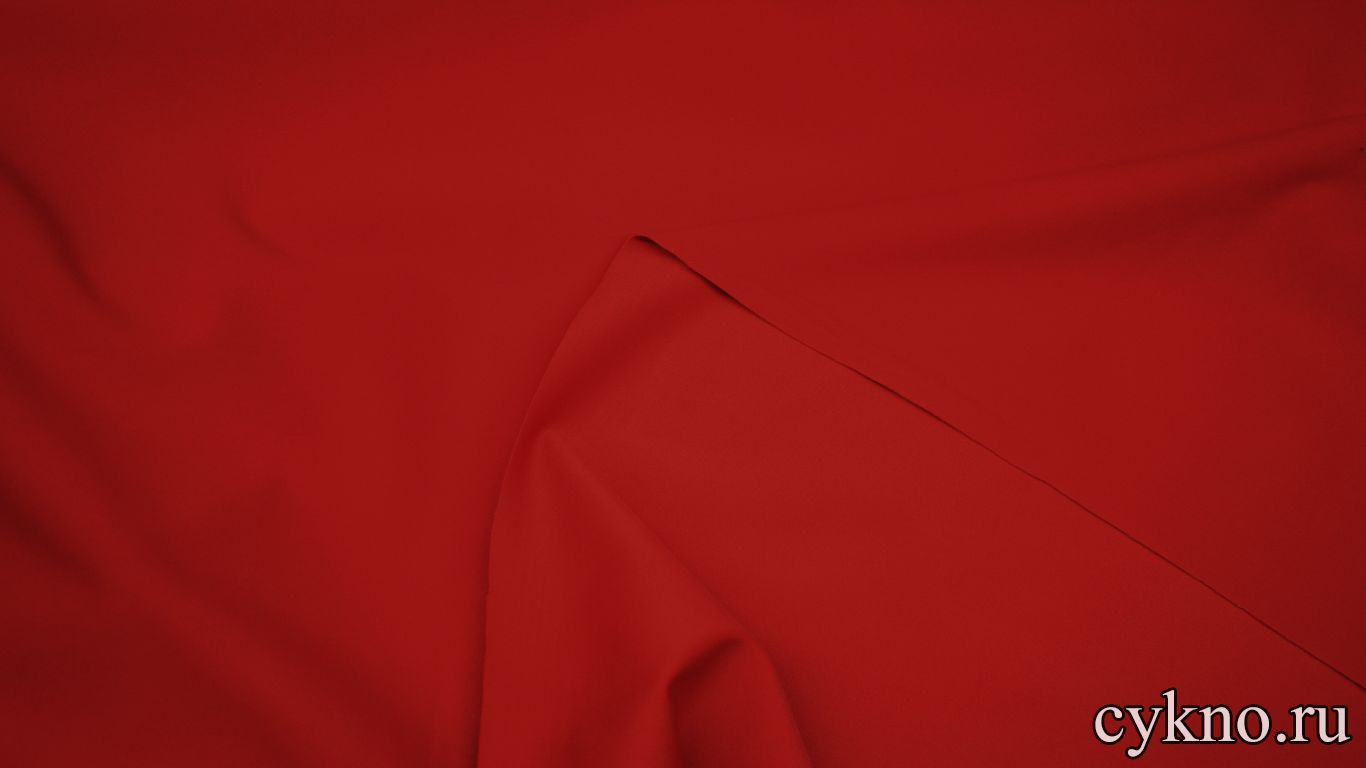 Бифлекс матовый насыщенный красный