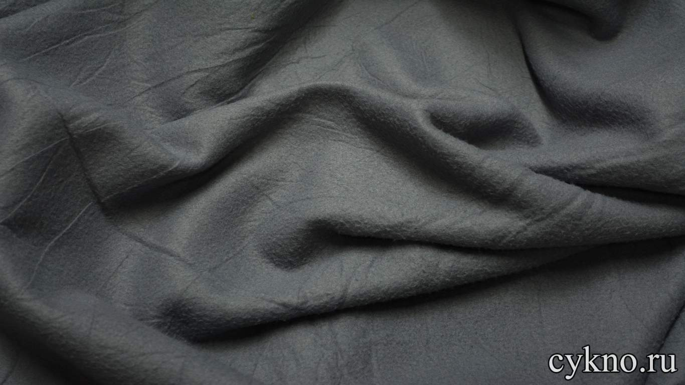 Флис серый