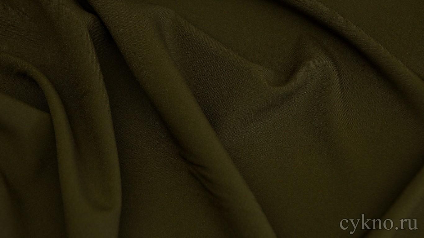 Габардин серо-зеленый