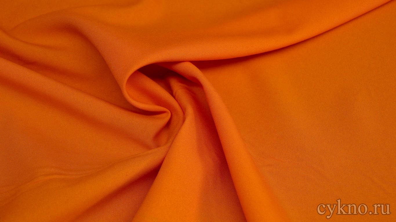 Габардин оранжевый