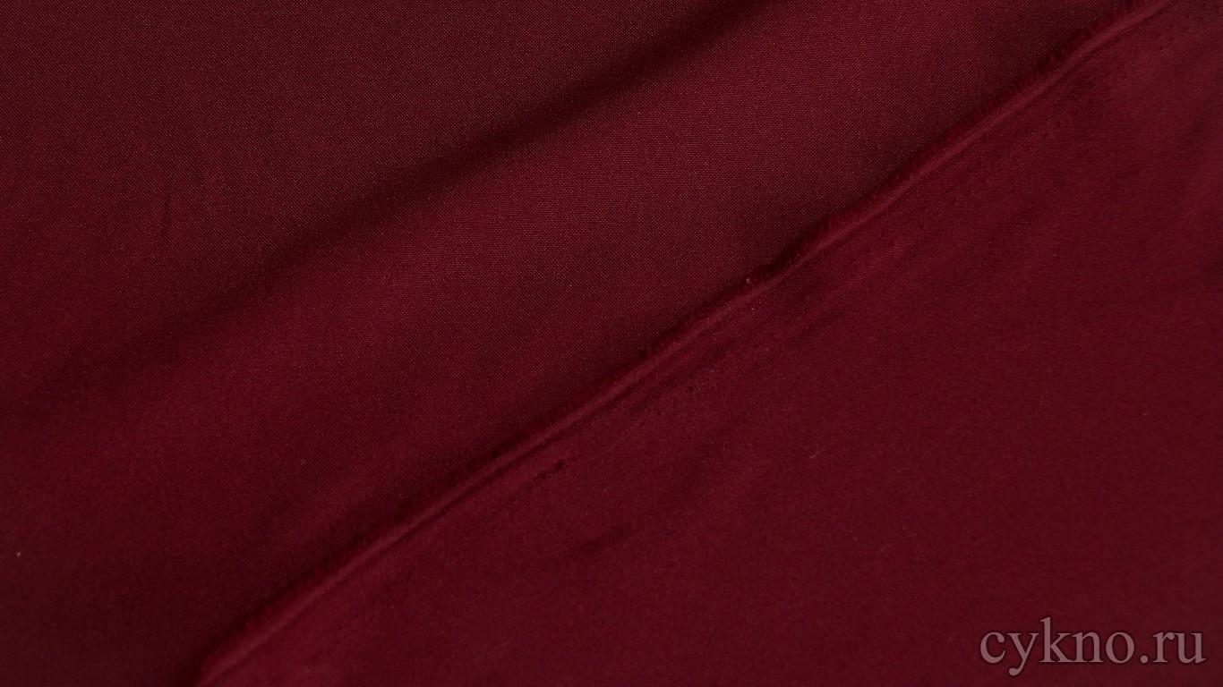 Габардин темно-бордовый