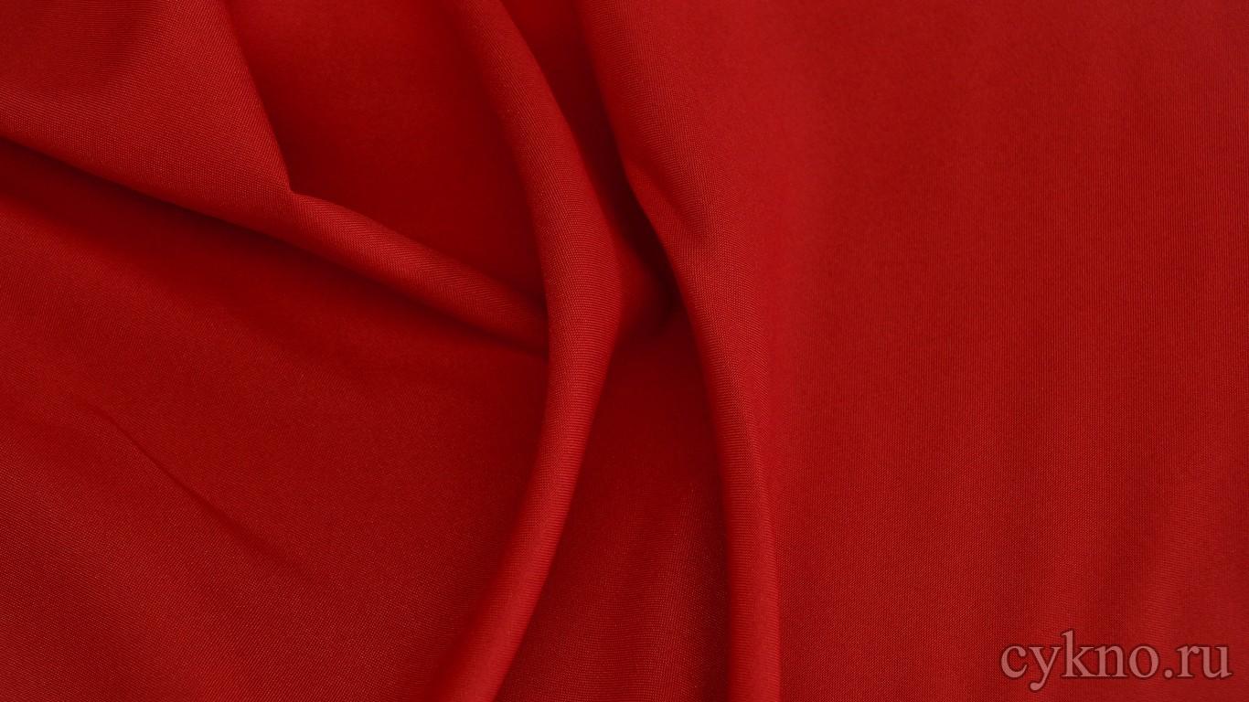 Габардин темно-красный