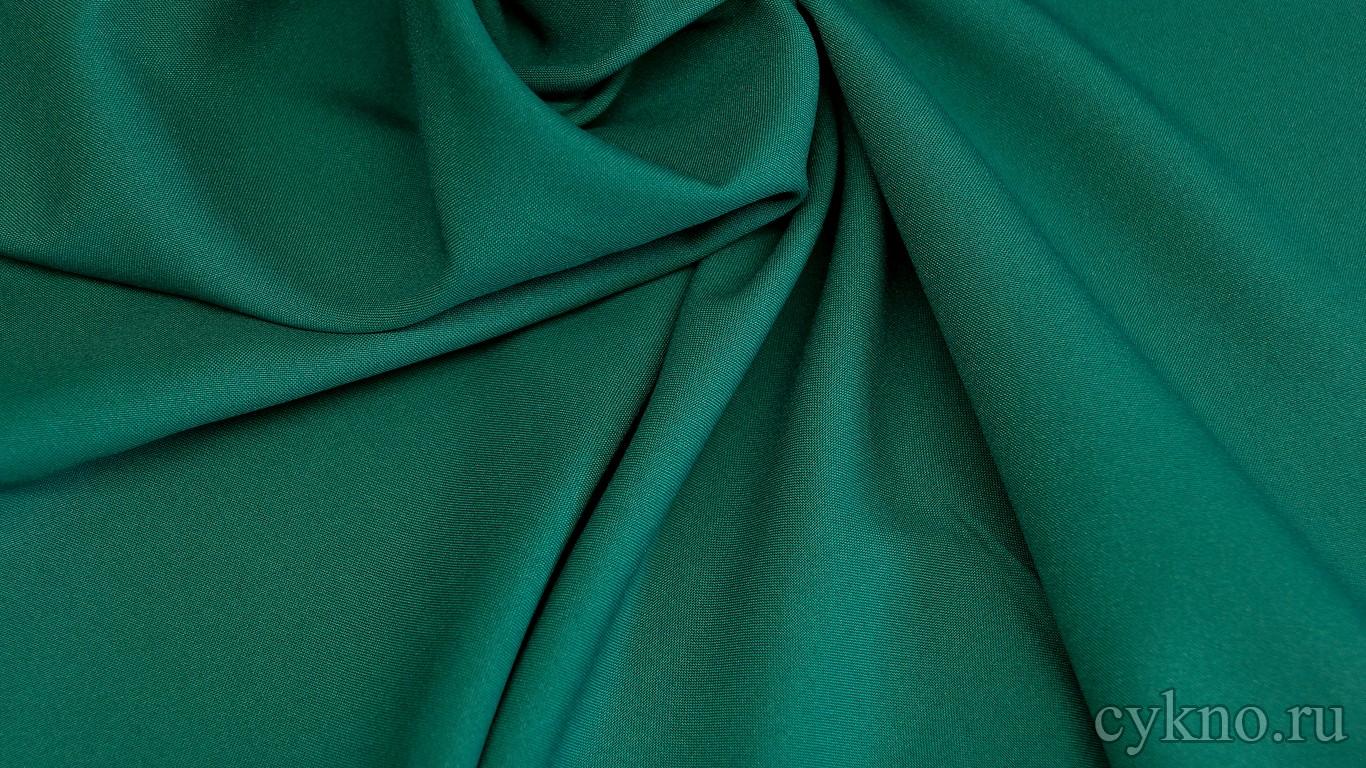 Габардин изумрудно-зеленый