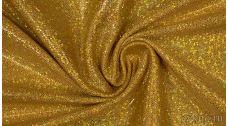 Ткань Голограмма Золотая