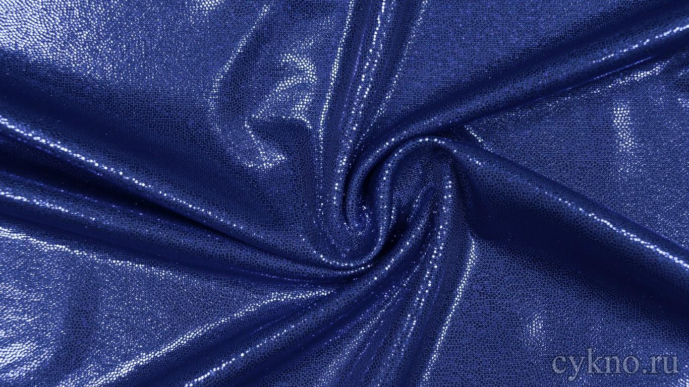Ткань Голограмма Синяя