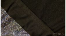Ткань Голограмма Серебряная