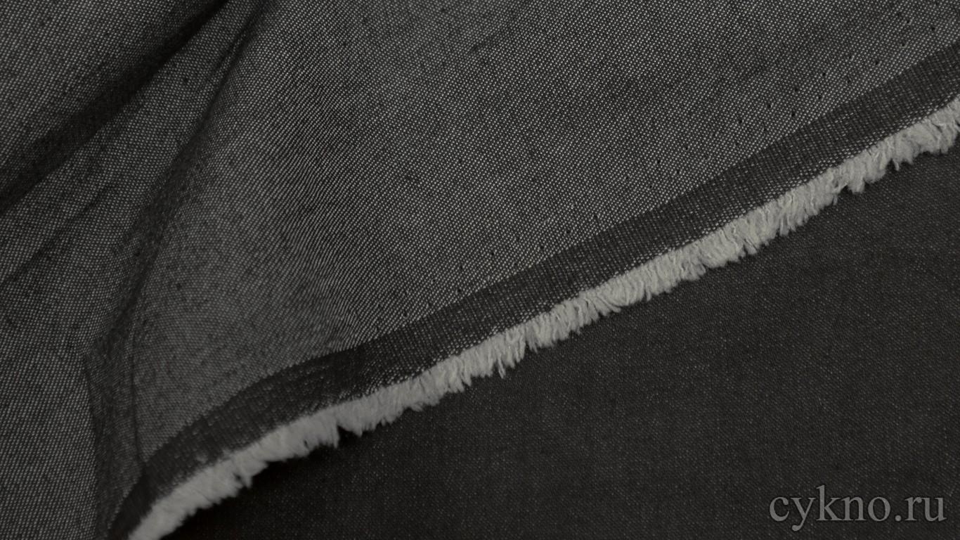 Ткань Джинс графитно-черный