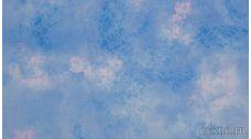 Ткань Джинс светлый розово-голубой
