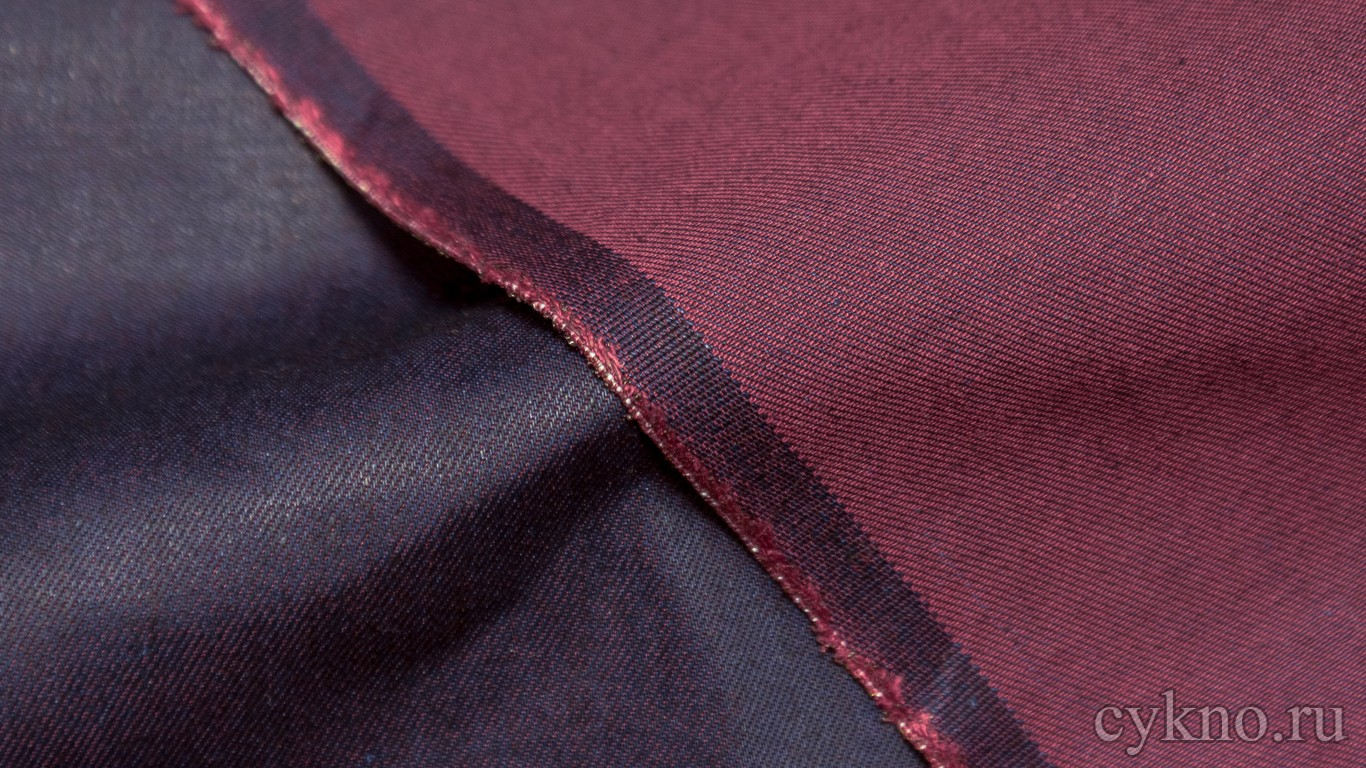 Ткань Джинс серовато-фиолетовый