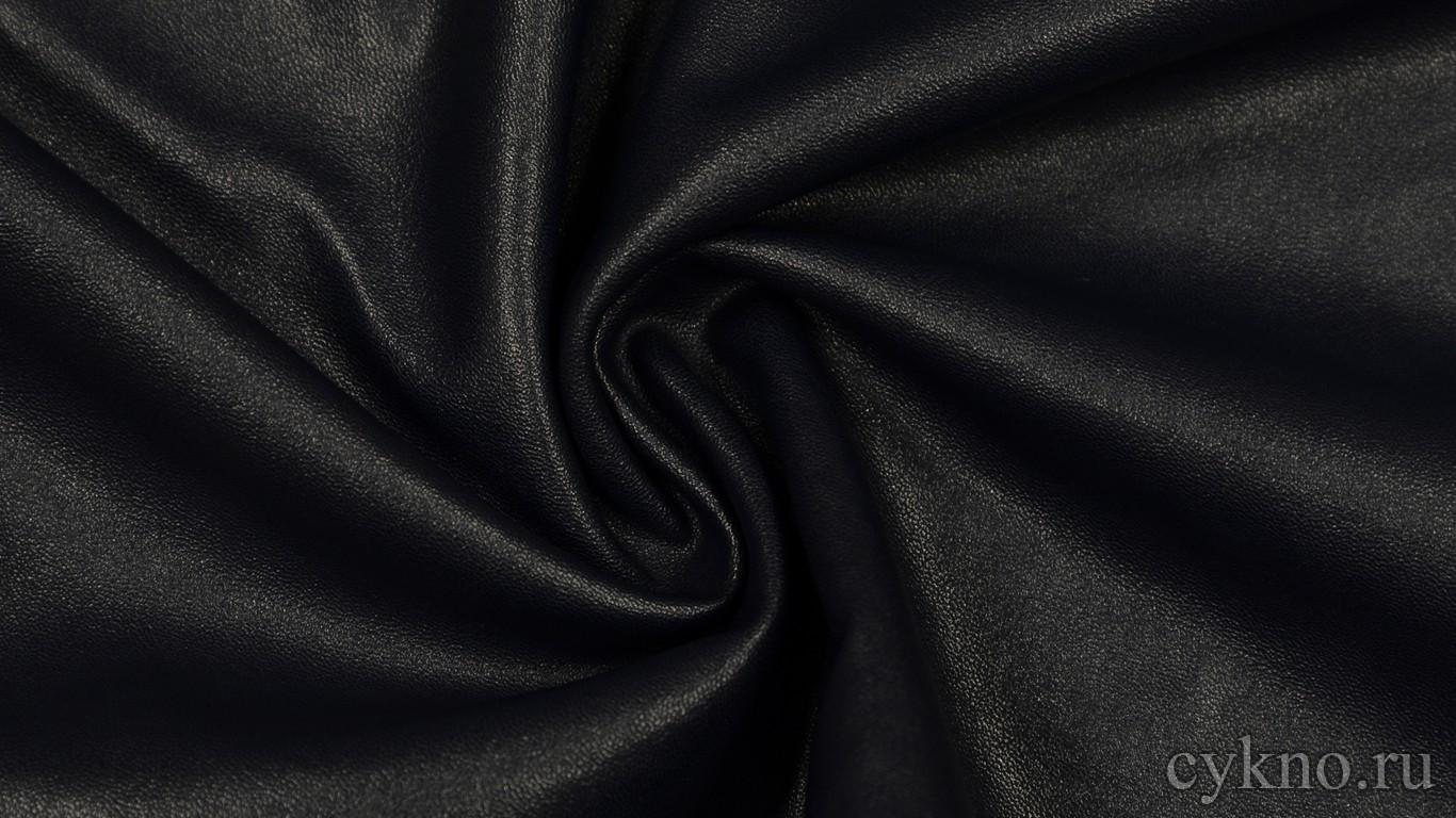 Кожзам Темно-синий