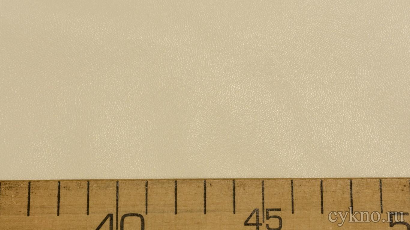 Кожзам Кремовый на х/б основе