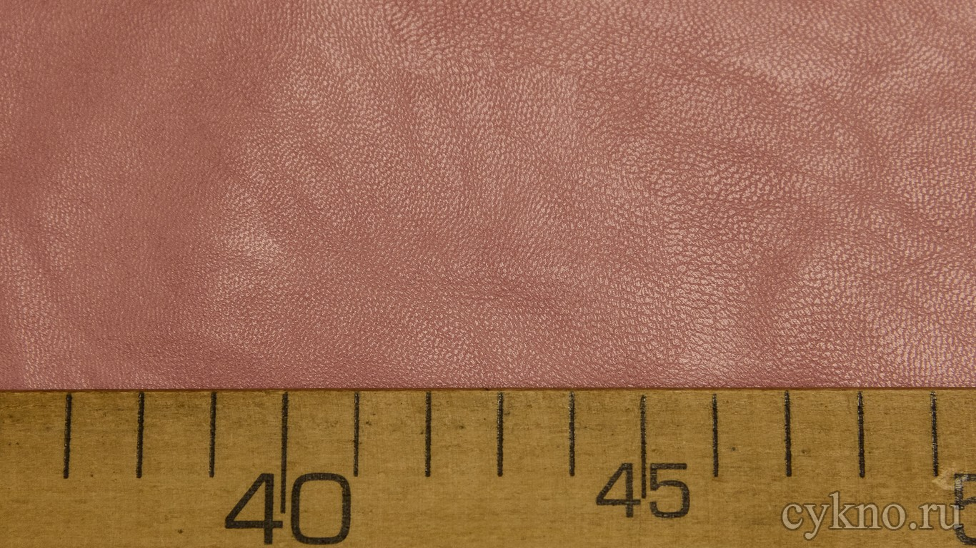 Кожзам Лососево-розовый на х/б основе