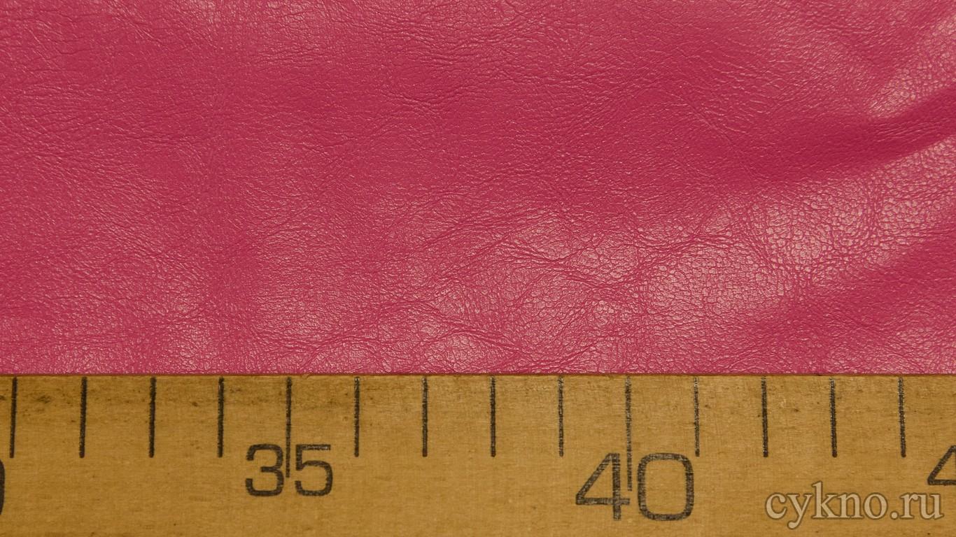 Кожзам Розовый на х/б основе
