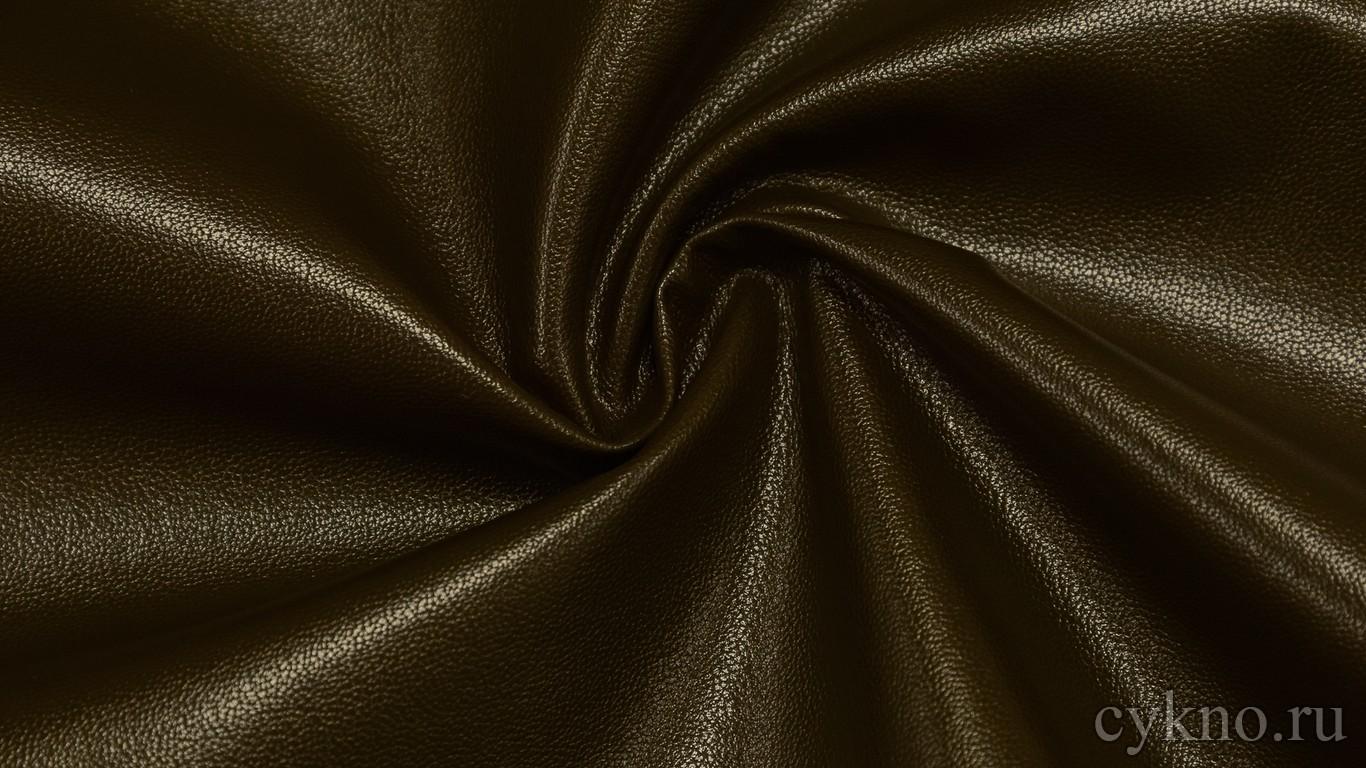Кожзам Темно-коричневый