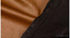Кожзам Темно-ореховый на х/б основе
