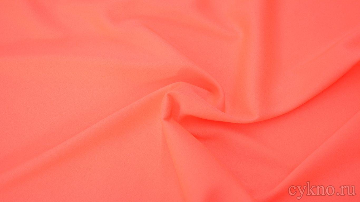 Креп костюмный глубокого розового цвета
