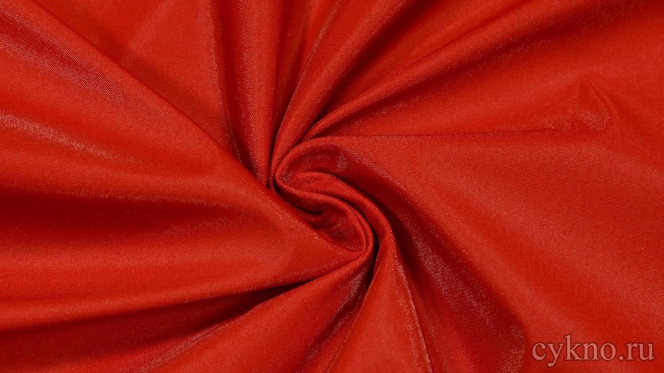 Ткань Курточная Красная