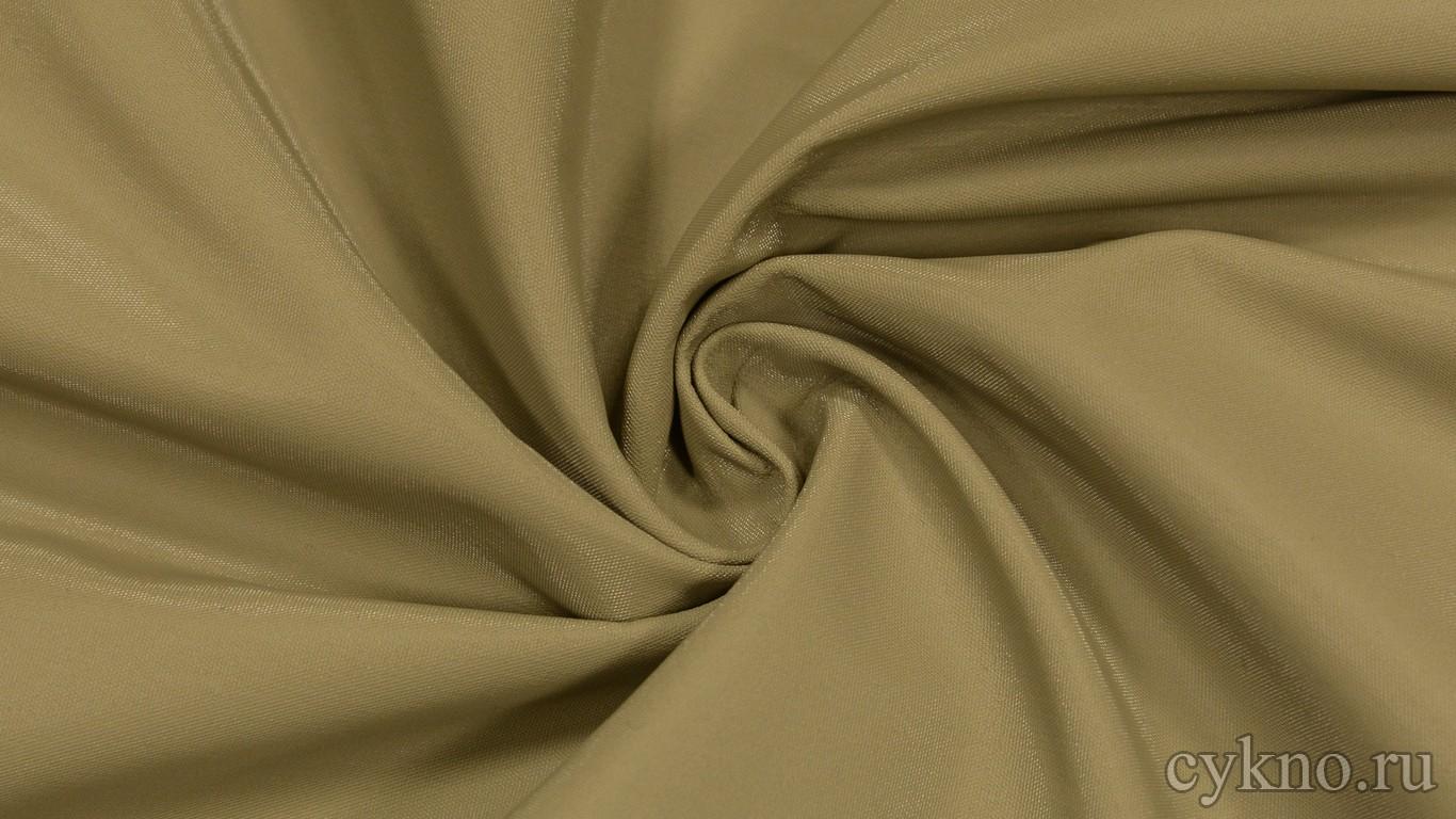 Ткань Курточная Темно-бежевая