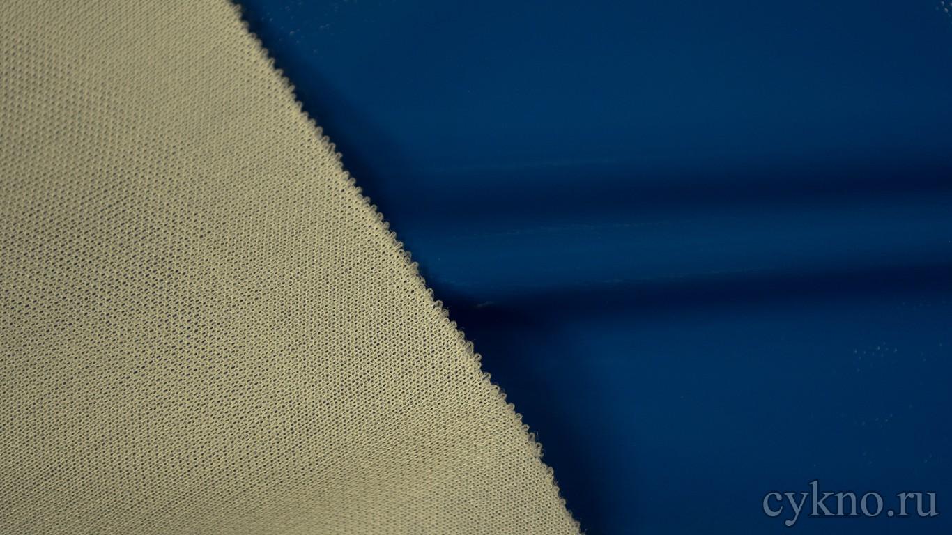 Ткань Лаке Синяя