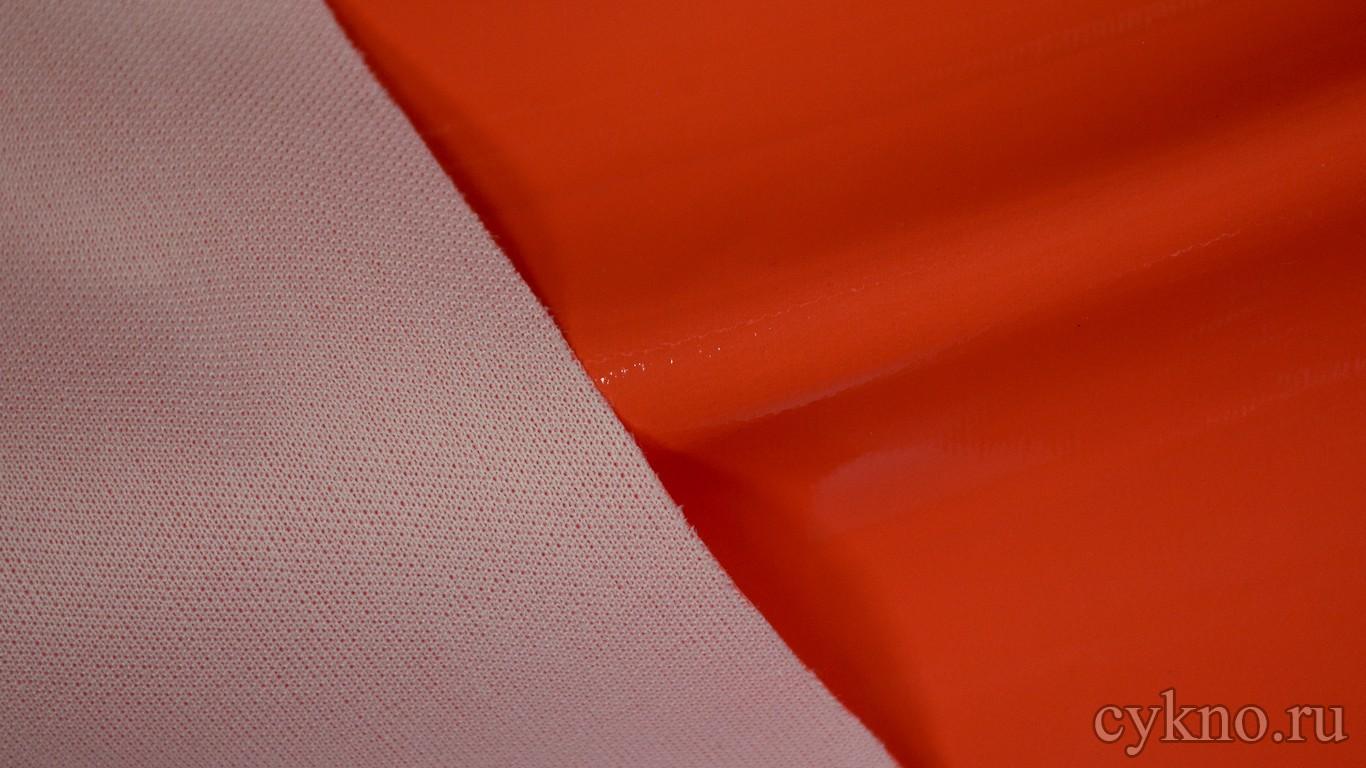 Ткань Лаке Оранжевая