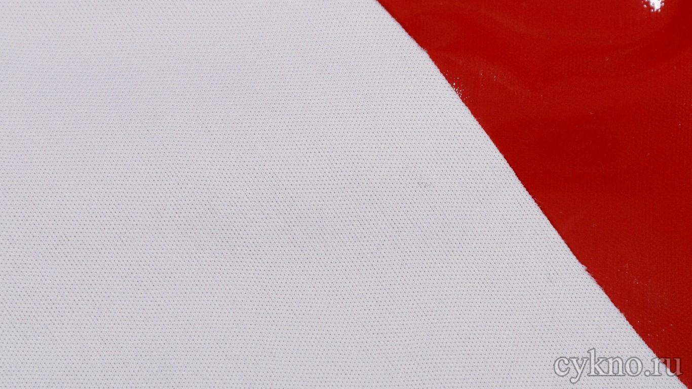 Ткань Лаке Карминовая