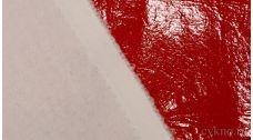 Ткань Лаке Яркая Красная