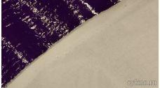 Ткань Лаке Темно-фиолетовая