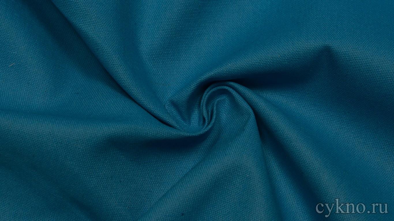 Ткань Лен лазурно-синий