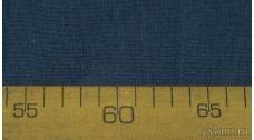 Ткань Лен темно-синий