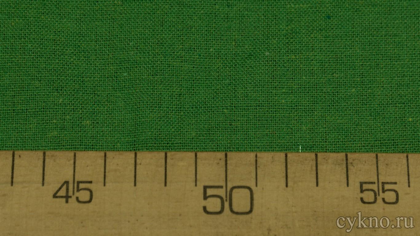 Ткань Лен травяной зеленый