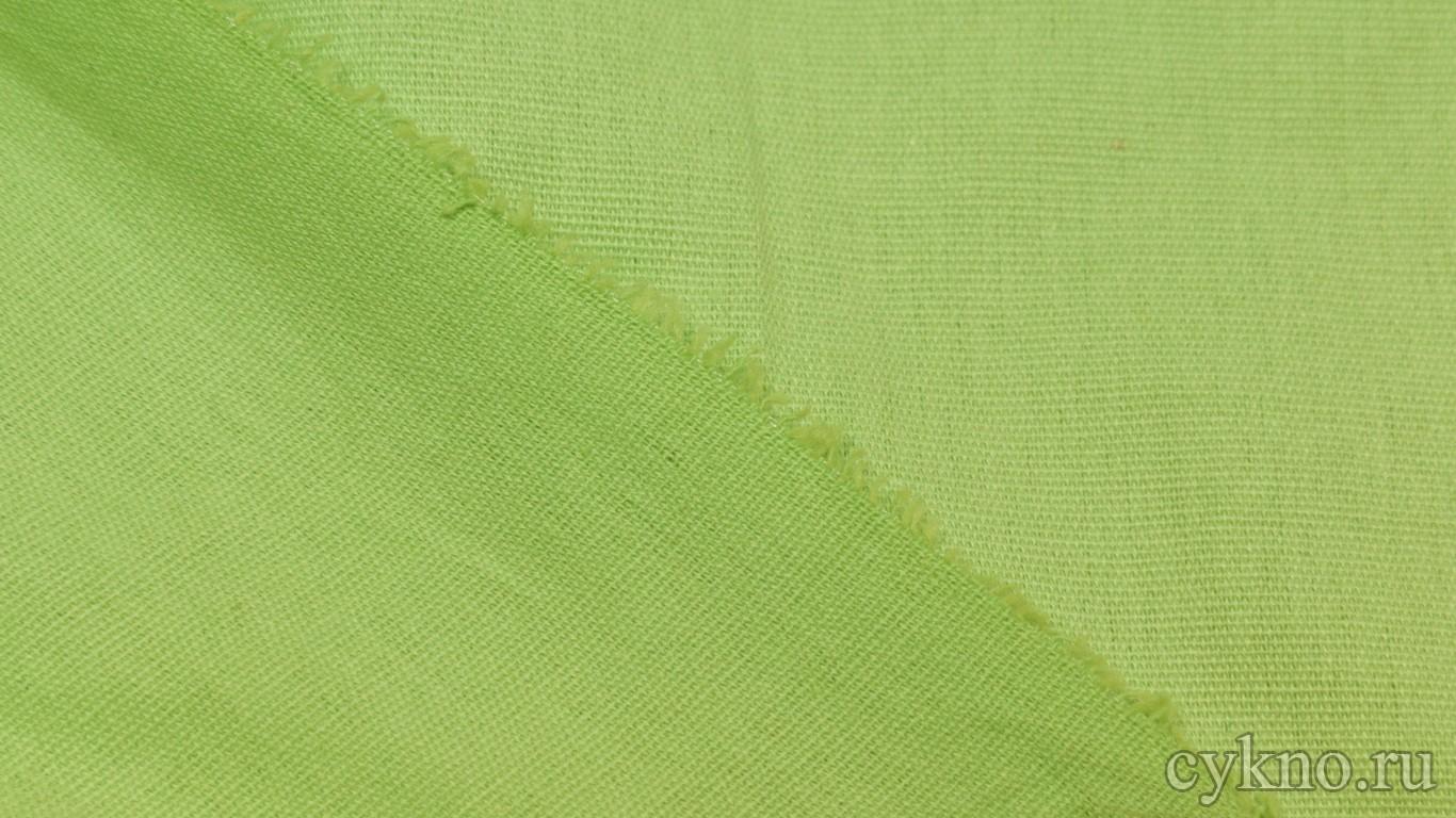 Ткань Лен фисташковый