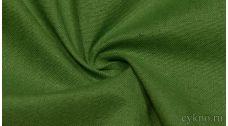 "Ткань Лен ""Желтовато-зелёный насыщенный"""