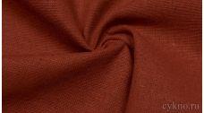 Ткань Лен медно-коричневый